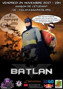 Affiche - BatLAN