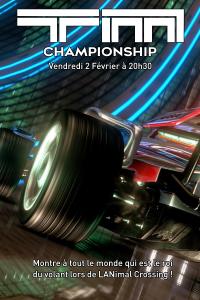 Affiche - 24 Heures de TrackMania
