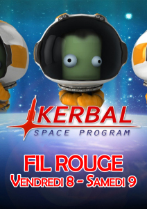 Affiche - Fil Rouge - Kerbal Space Program