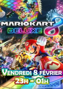 Affiche - MarioKart Deluxe