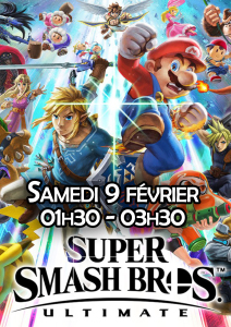 Affiche - Super Smash Bros - Ultimate