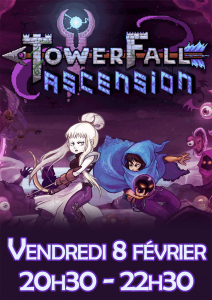 Affiche - TowerFall - Ascension
