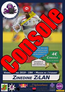 Affiche - Zinedine ZiLAN - Place Console