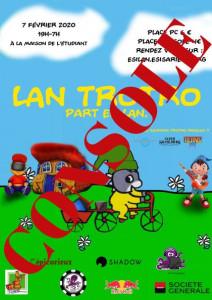 Affiche - LAN Trotro – Place Console